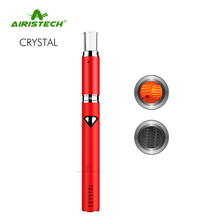 New Electronic Inventions Airistech Crystal Portable Vaporizer Wax Vape Pen Kit T