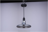 Contemporary style Glass Pendant Lighting Smoky Grey Hanging Lamp for Restaurant/Dining Hall