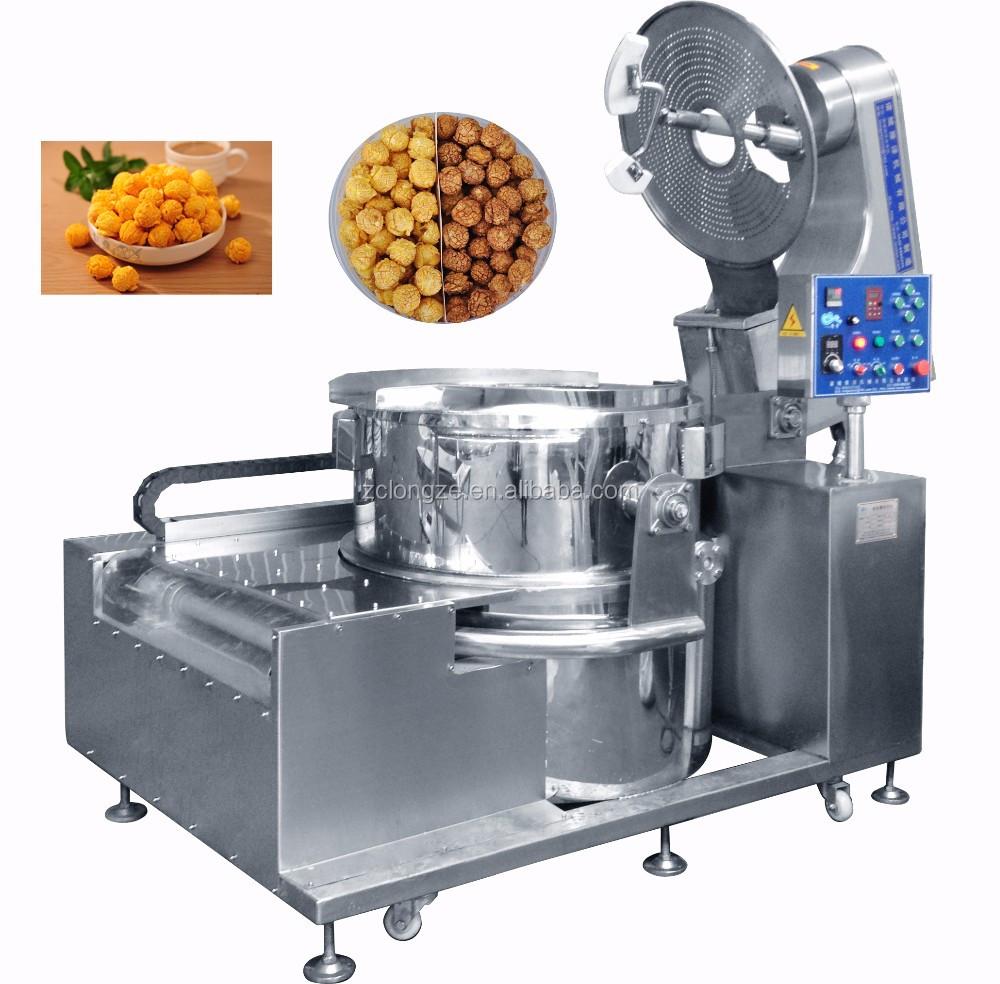 using popcorn machine