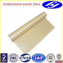 195g/m2 ballistic unidirectional aramid fiber fabric/cloth/roll for military