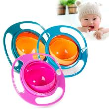 Infant Baby Feeding Toy Bowl Dishes Kids Boy Girl Spill Proof Universal Rotate Technology Funny Gift Baby Accesories
