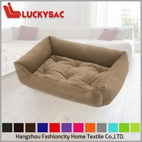 2015 fashion design, comfortable dog bed, 100% polyester square dog bed cat hammock bed