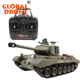 Global Drone Henglong Tank 3838-1 Snow Leopard USA PERSHING M26 1/16 with Smoke & Sound / Upgraded Version/Metal Tank Track