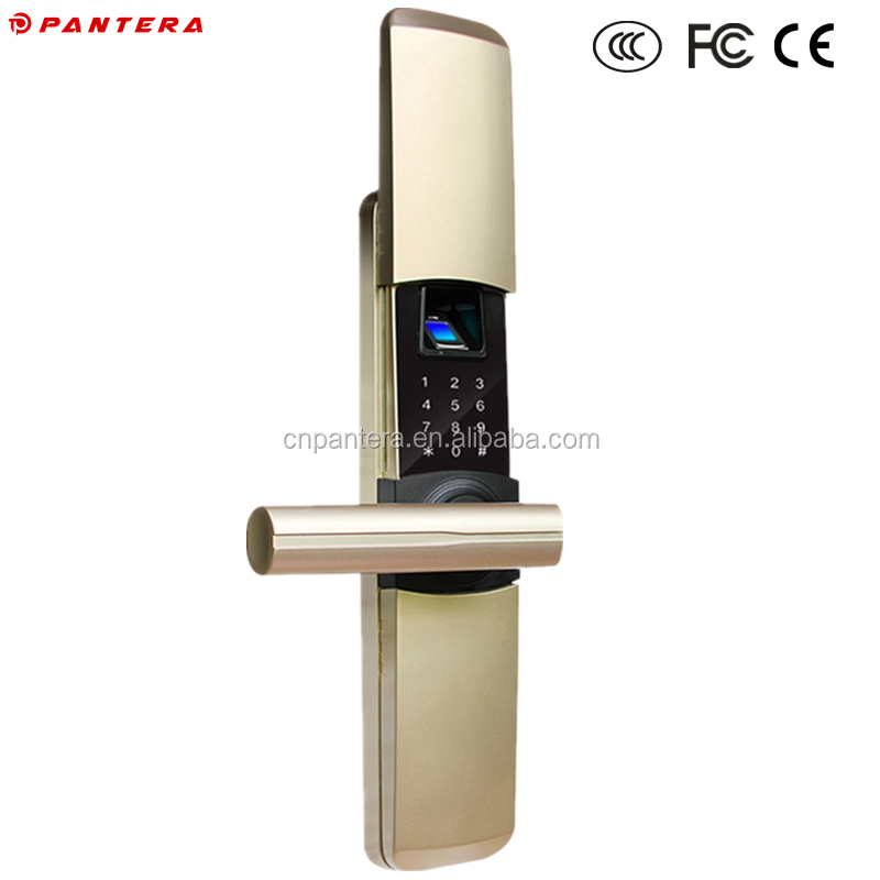 Fingerprint Digital Code Lock Functional Electronic Home Security High Quality Door Lock