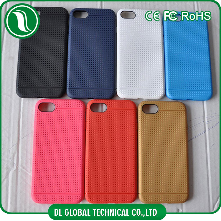 Original mobile phone accessories of honeycomb design for iphone 7 case new tpu parts for iphone smartphone