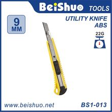 Automatic Utility Knife With Three Blades Retractable Pocket Safety Utility Box Cutter Utility Knif