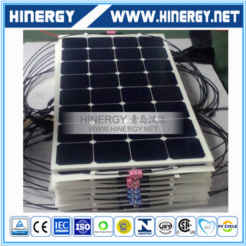 solar panels manufacturer china 100W 120W 130W 150W 180W 200W thin film amorphous silicon solar panel