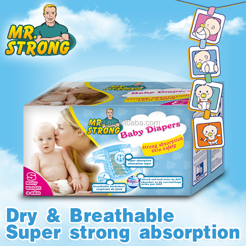 Wholesale price qualified baby diaper in bulk