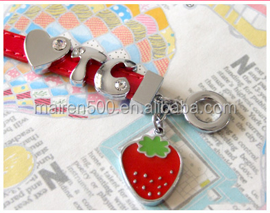 Dolphin slide charms for bracelet jewelery making