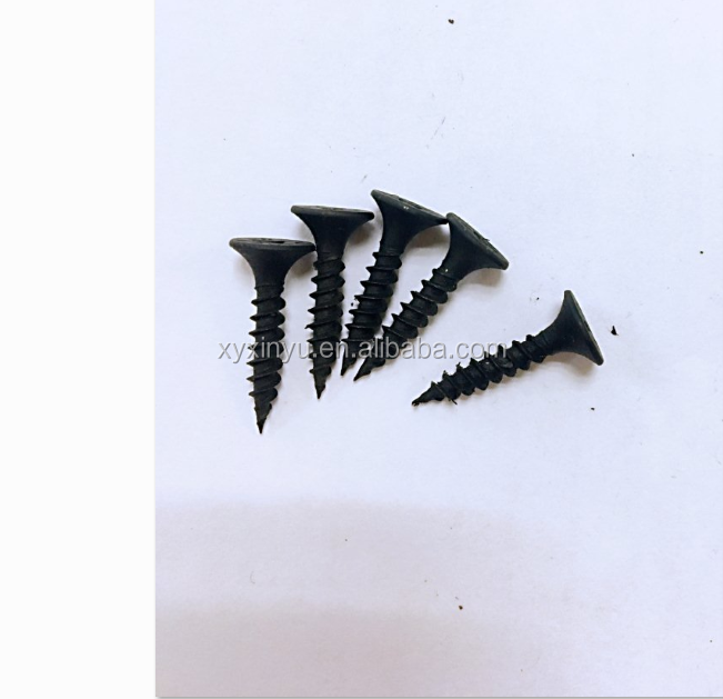 Made in China <strong>C1022</strong> <strong>Black</strong> phosphate fine thread <strong>Drywall</strong> <strong>screws</strong> gypsum <strong>screw</strong>
