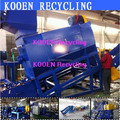 new style waste used pet bottle plastic recycling machine