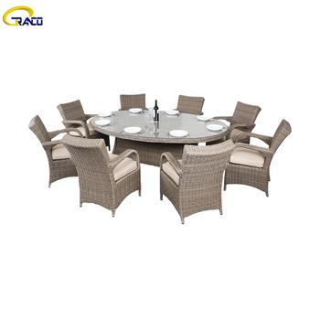 Cheap dining wicker table set