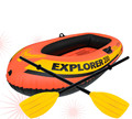 INTEX High Quality PVC 58332 Inflatable Dinghy 300 Three Persons Boat Set With Oars&Air Pump