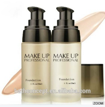 Private label liquid foundation makeup face foundation