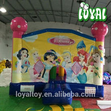 2016 Hot giant inflatable figures,0.5mm PVC water slide jumper rentals, commercial dinosaur bouncy castle hire