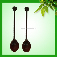 New Wholesale Discount reusable plastic cutlery table spoon