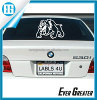 Custom sticker for car die cut stickers private label car window animal decals