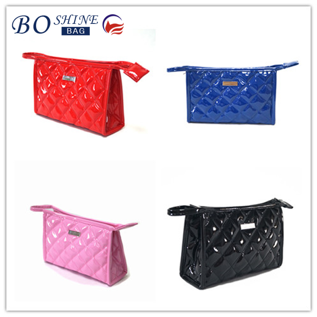 Wholesale promotional pvc travel cosmetic bag make up bag for woman