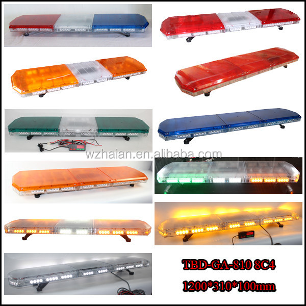 Car Alarm Equipment LED Lightbar/Amber Vehicle Strobe Lightbar/Urgent Public Signal Light TBD-GC-810 8C4