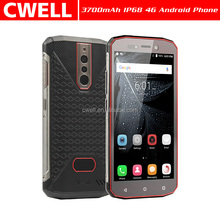 5.2 '' Rugged Android Smart Phone Dual Band WiFi Four Cameras Fingerprint Unlock 2GB RAM/16GB ROM