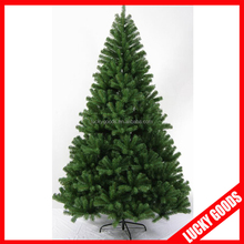 2015 high quality outdoor PVC collapsible christmas tree wholesale
