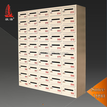 New Mailboxes System post wall mounted office residential mailbox for apartment building