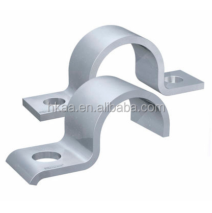 Metal pipe cable clamp and clip, aluminum clip fastener, metal spring clips