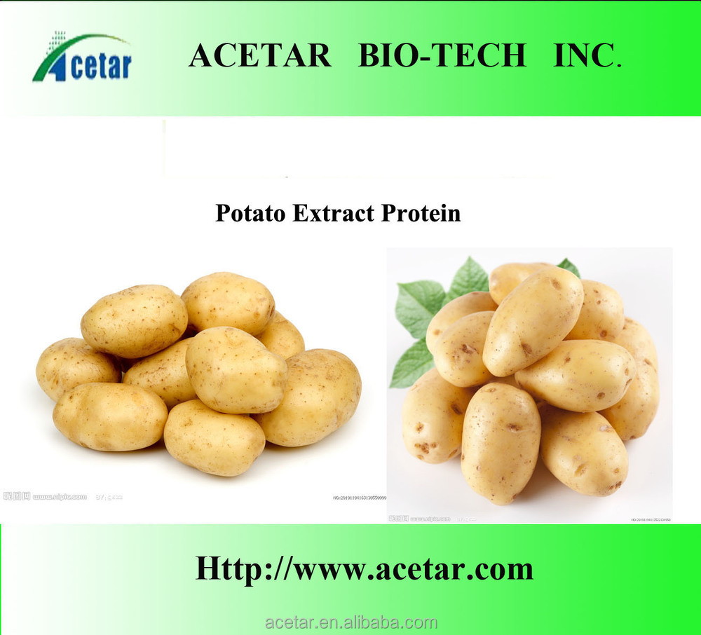ISO , KOSHER Factory supply potato extract food additives Active ingredient:potato protein 5%