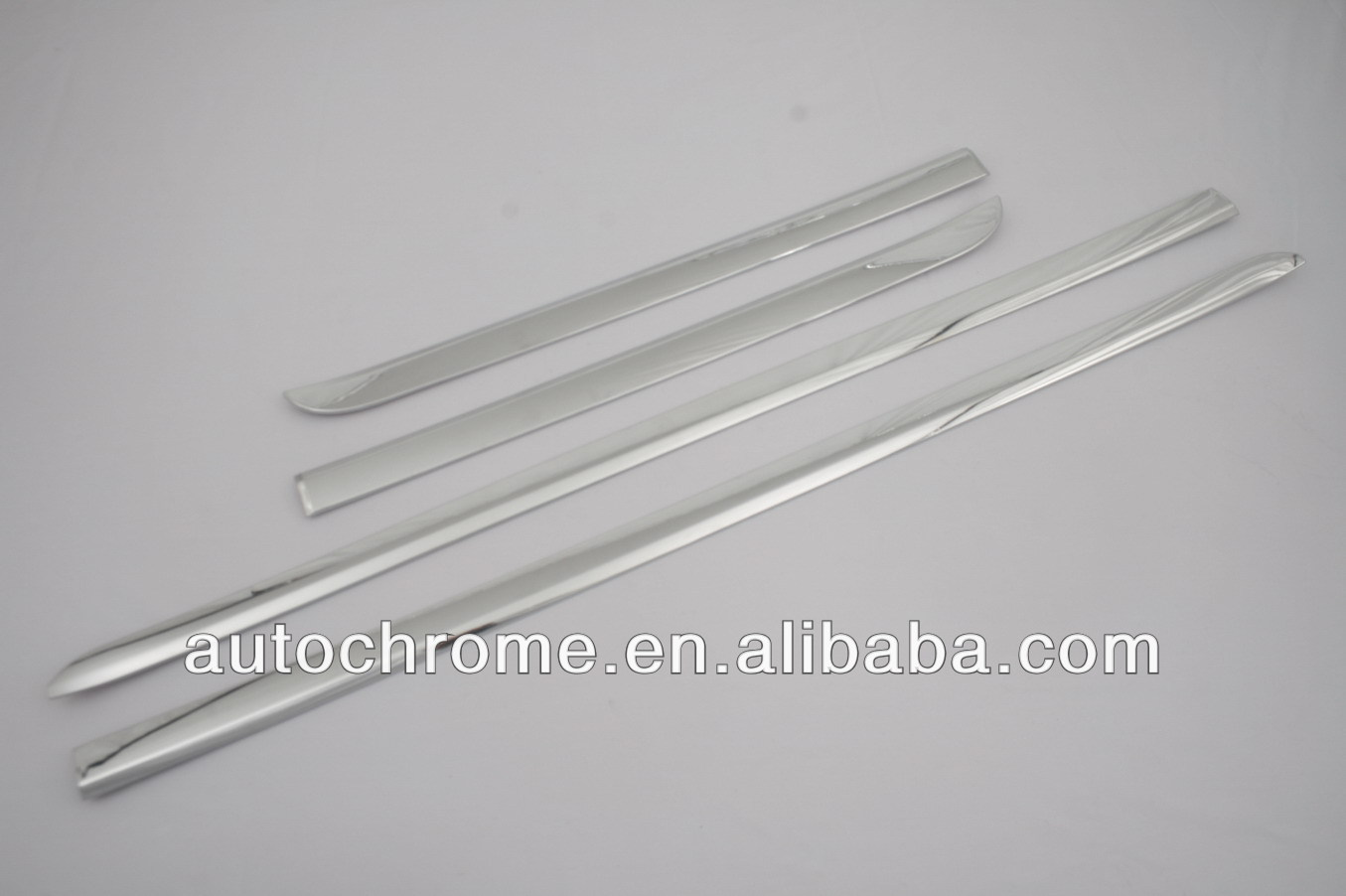 Car Accessory Chrome Side Door Molding Trim Set for Hyundai Santa Fe 2013
