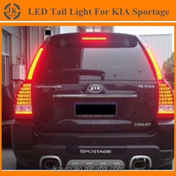 Hot Sale Super Quality Sportage Tail Light for Kia Sportage High Bright Auto LED Tail Light for Kia Sportage 2008-2013