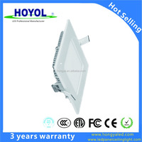 3W 9W 12W 18W Slim Flat SMD3014 Square LED Panel Light/ Panle Lamp LED