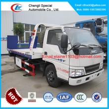 JMC flatbed tow truck,right hand wrecker tow trucks for sale