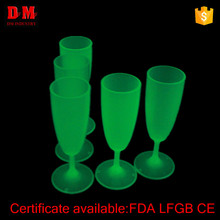 LFGB economical new plastic glowing cup