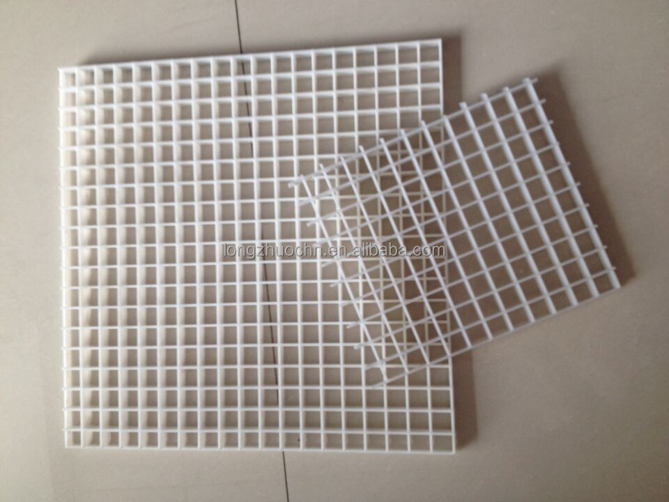Plastic egg crate grille ceiling egg crate sheet for air - Grille ventilation fenetre pvc ...