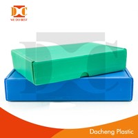 PP material storage box/ corrugated plastic box