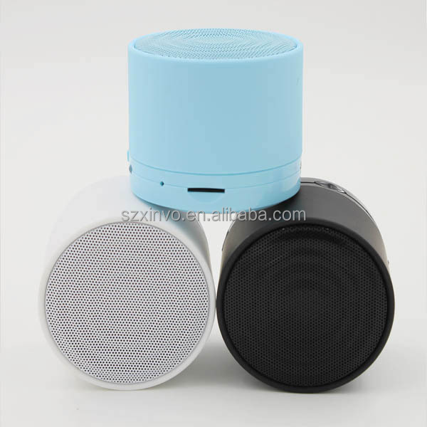 2015 Multiple Colors Portable Bluetooth Speaker with TF Card
