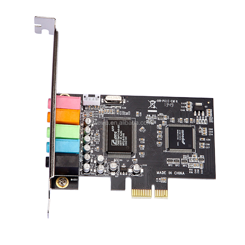3d effect cmi8738 6ch express pci sound cards