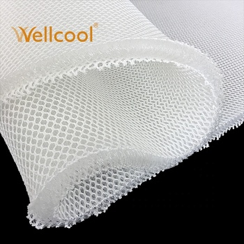 wellcool great supporting chair cushion 20mm thickness 3d fabric spacer mesh