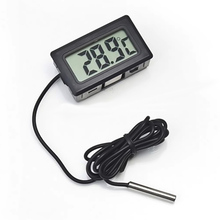 Digital Display Electronic Refrigerator Thermometer Aquarium Waterproof Probe