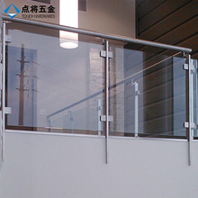 Outdoor decorative balcony stainless steel railing design