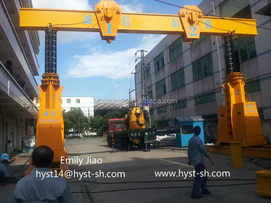 SHUN YUN Hydraulic Gantry lifting systems