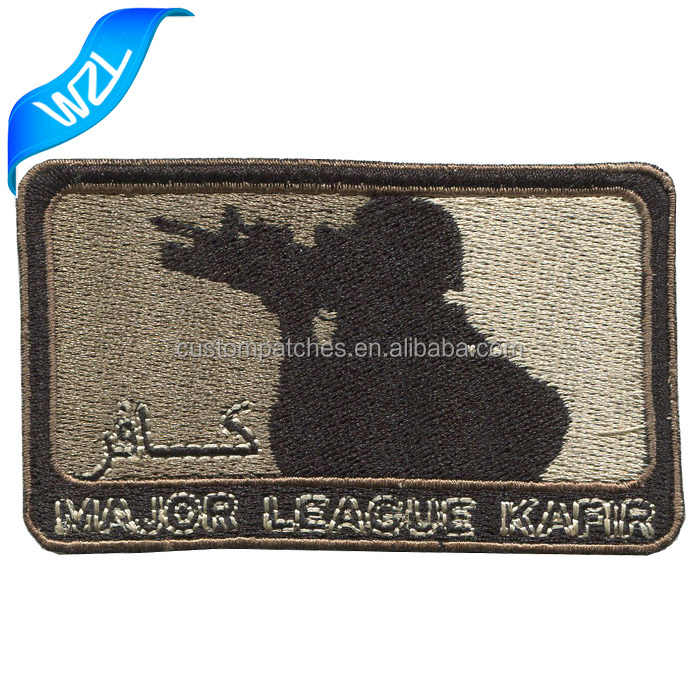 Personalized Military shoulder patches/ hat embroidery badges