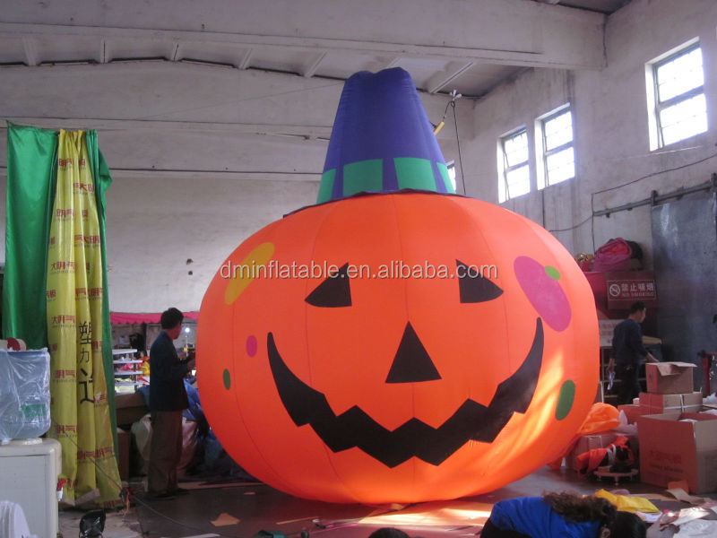 High quality Inflatable Halloween model, giant inflatables pumpkin MK-4