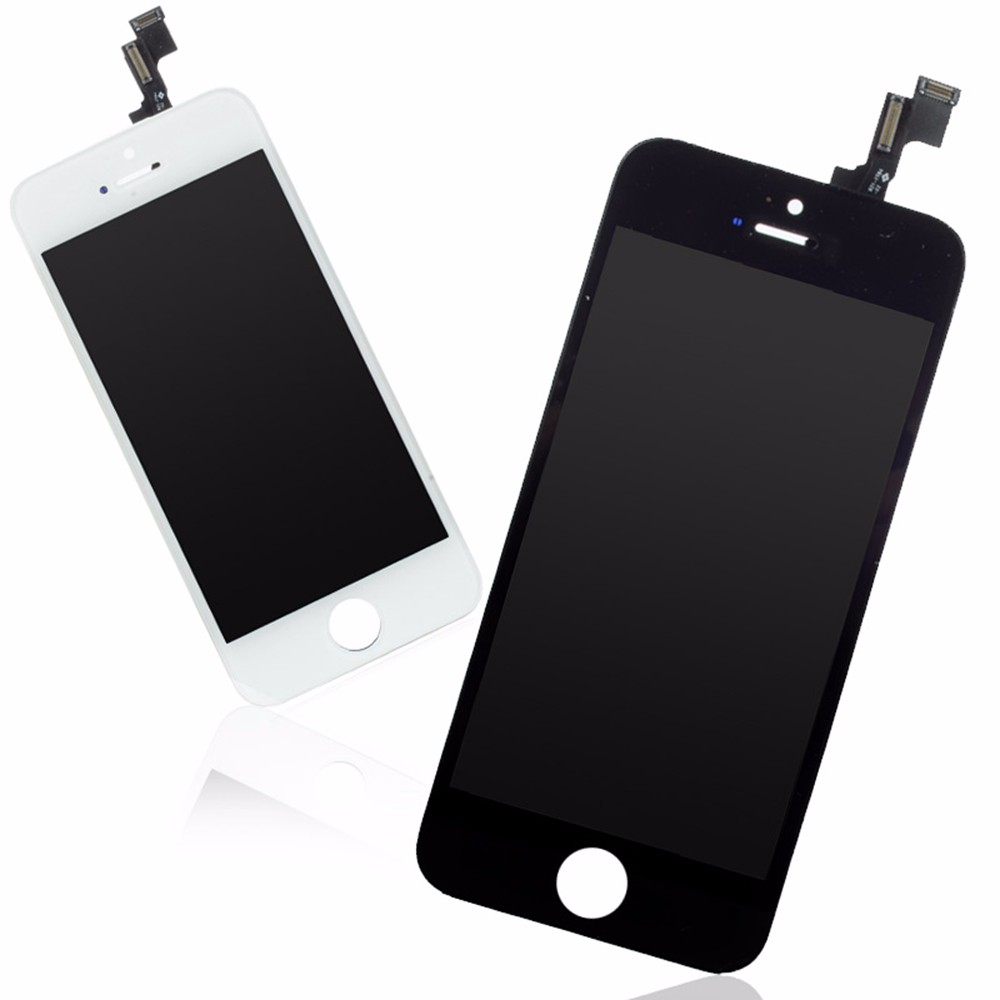 Accpet Mix Color White/Black Lcd Screen For iPhone 5s LCD Display by DHL FEDEX UPS EMS Shipping