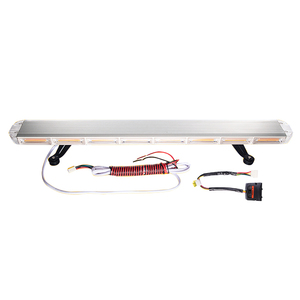 DC10-30V full size ultra slim warning led lightbar for tow truck ems vehicle