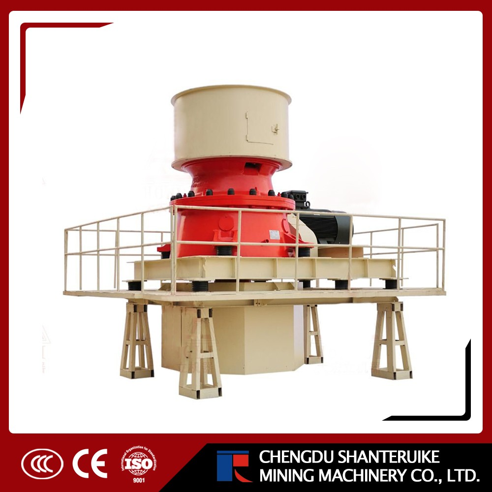 Lron ore crusher HST300 Single cylinder hydraulic cone crusher