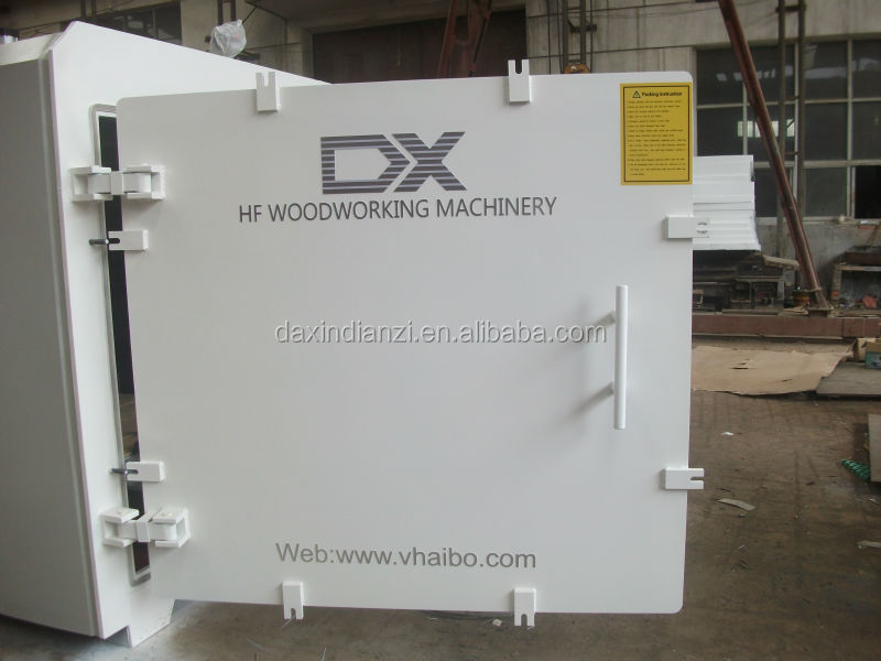 Square shape HF vacuum wood dryer machine from china