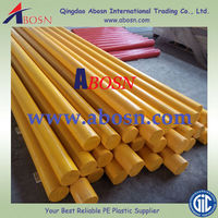 Light weight Colorful HDPE rod/bars/Round UHMW Rods