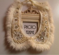 Fashion white Fur collar necklace fake collar women 's clothing accessories