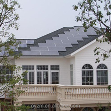 Easy installation Jiangsu high quality solar panel power system home 5kw
